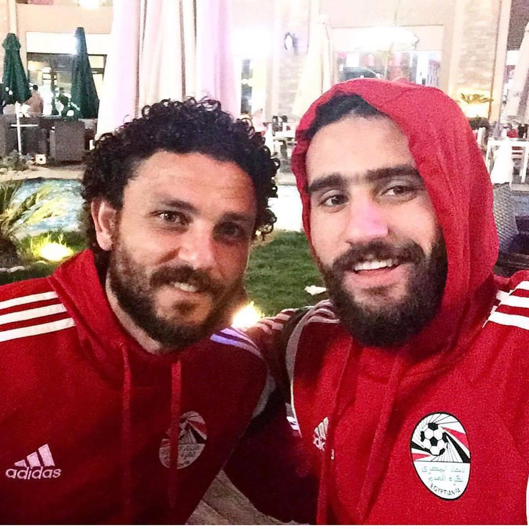 باسم مرسي وحسام غالي