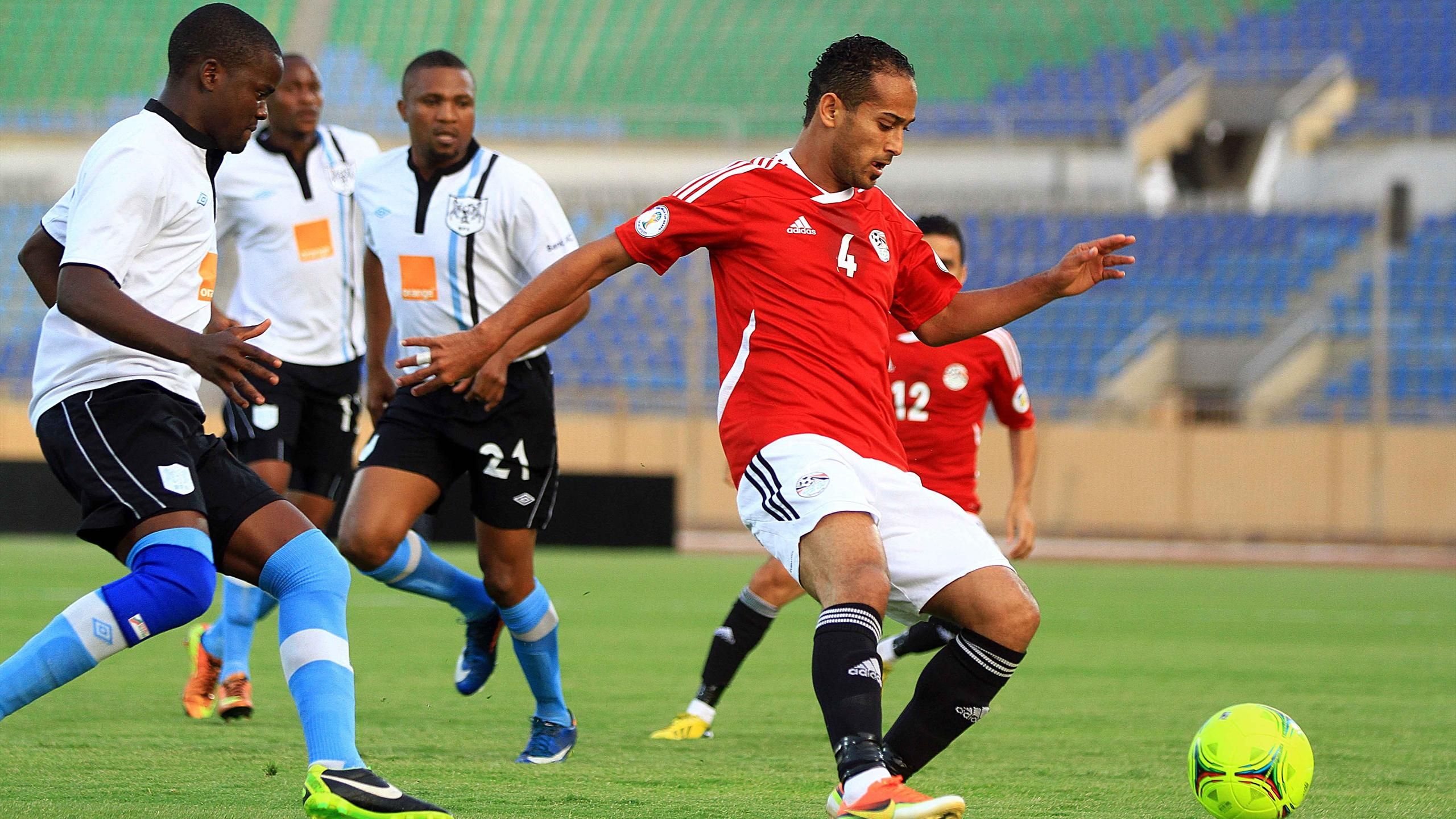 وليد سليمان مع منتخب مصر