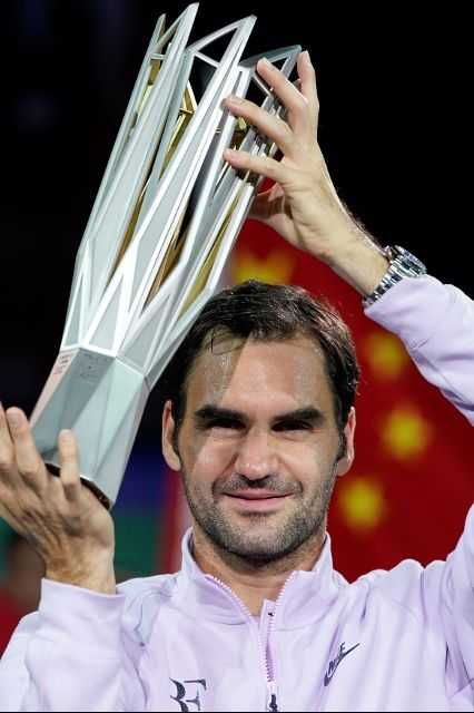 فيدرر بطل التنس العالمي