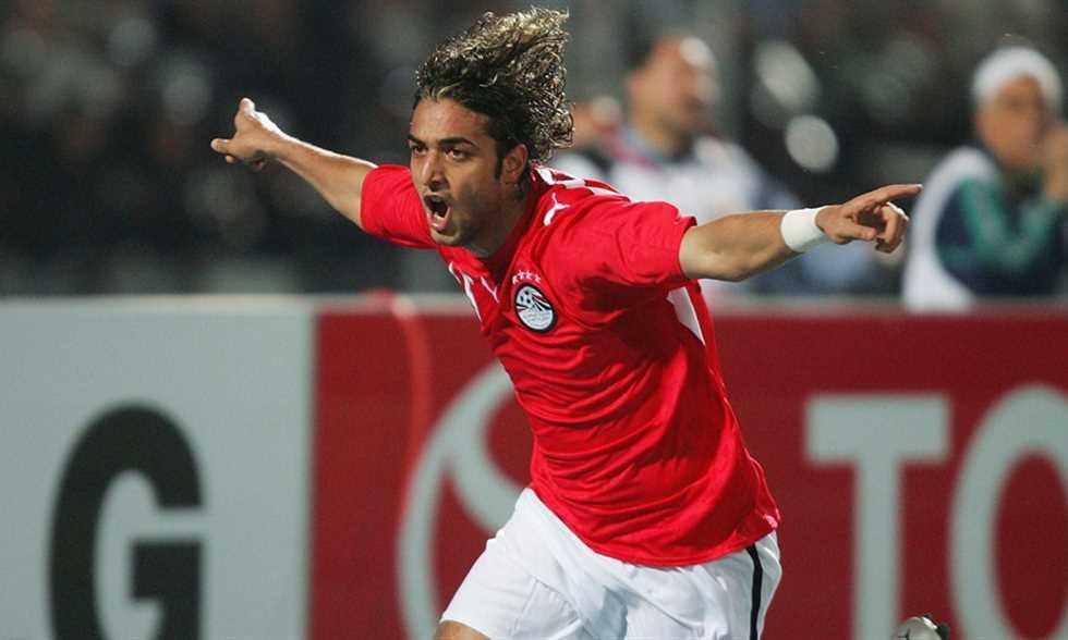 ميدو مع منتخب مصر