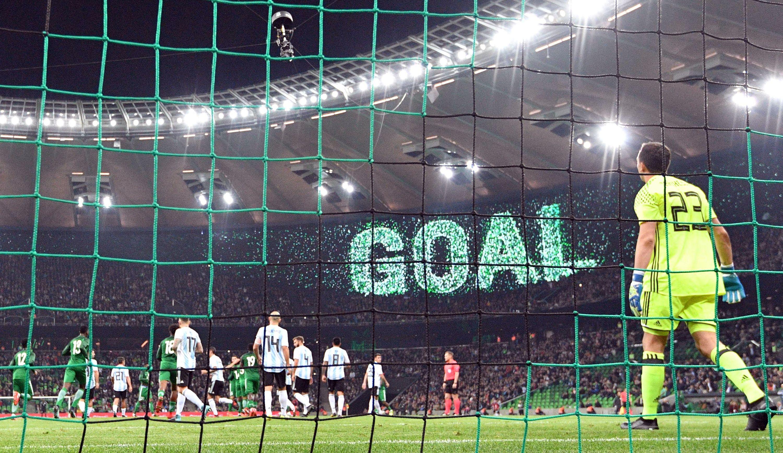 هدف نيجيريا