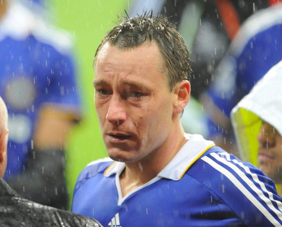 بكاء جون تيري