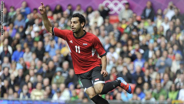 محمد صلاح في أولمبياد لندن 2012