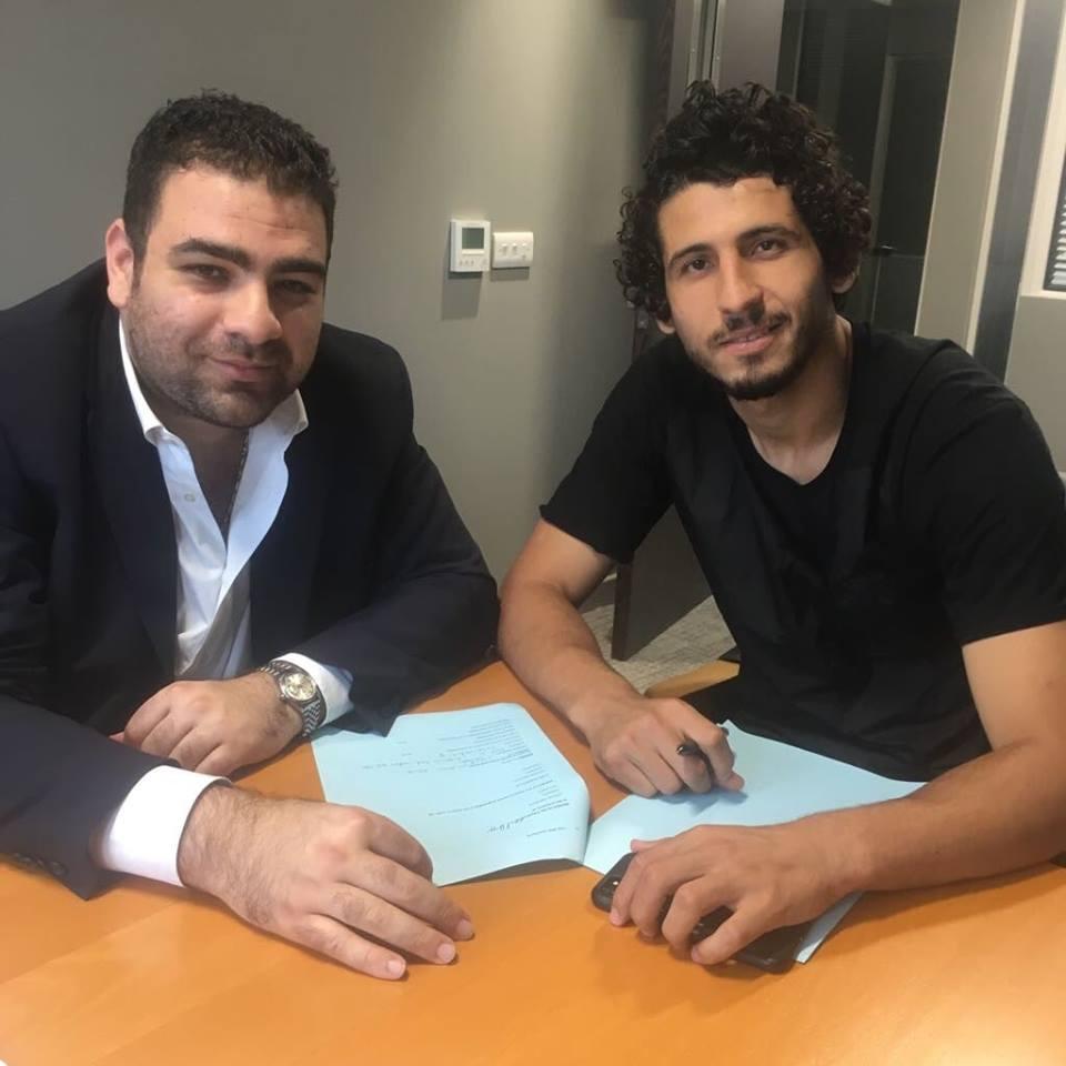 أحمد حجازى ولحظة التوقيع لصالح وست بروميتش