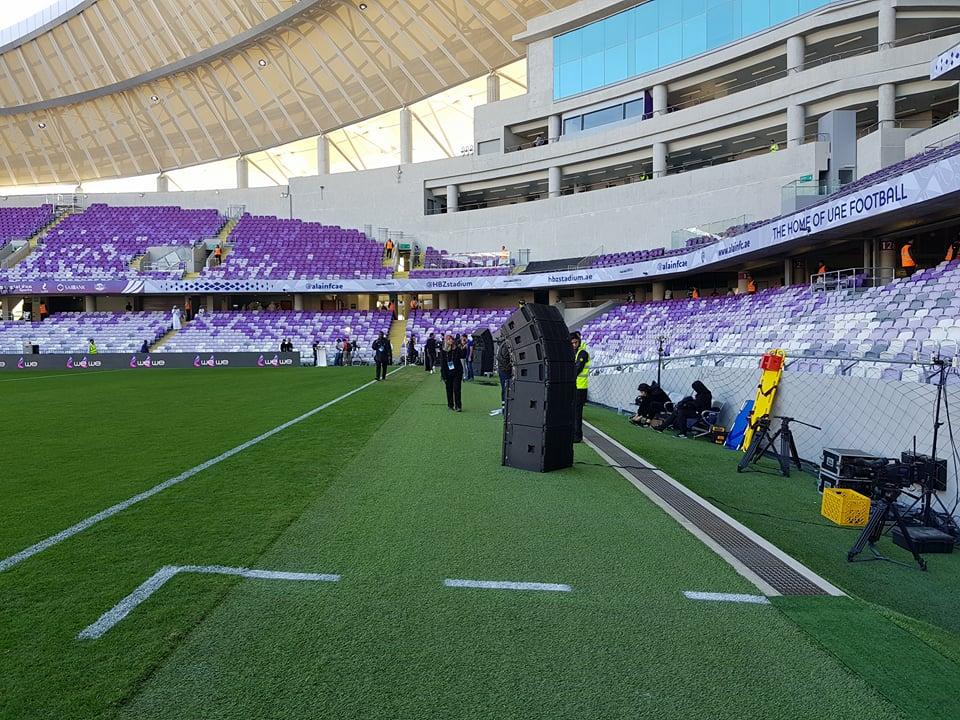 ملعب زايد جاهز لاستقبال مباراة السوبر