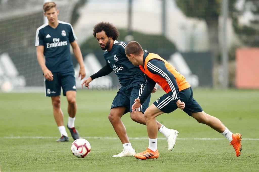 تدريبات ريال مدريد (8)