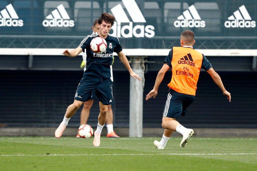 تدريبات ريال مدريد (3)