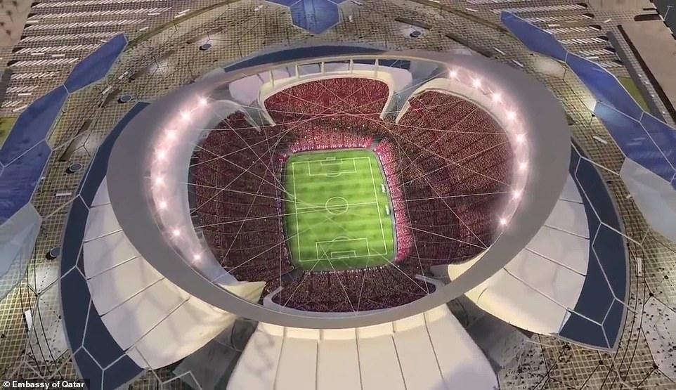 استاد لوسيل في قطر