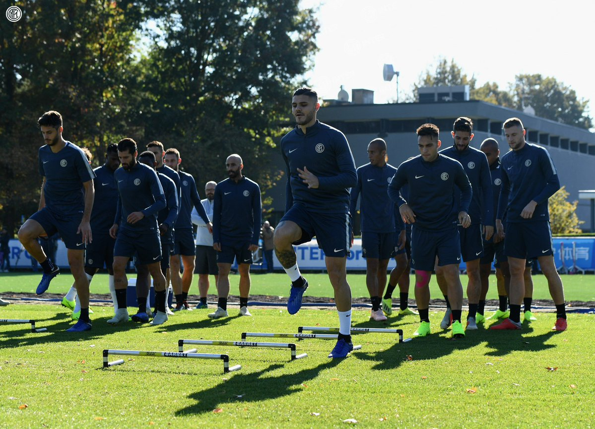 تدريب انتر ميلان الأخير قبل مواجهة برشلونة (2)