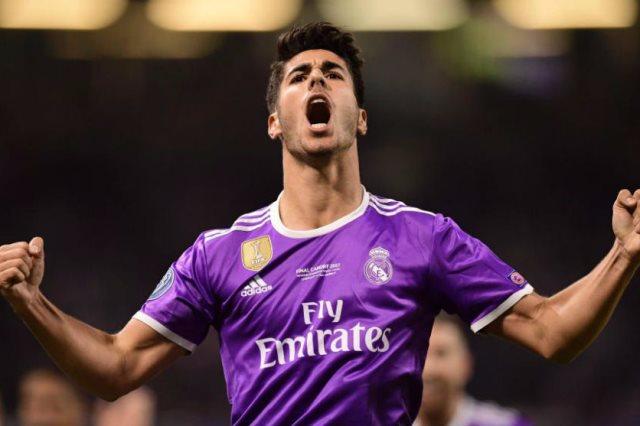 اسينسيو بقميص مدريد