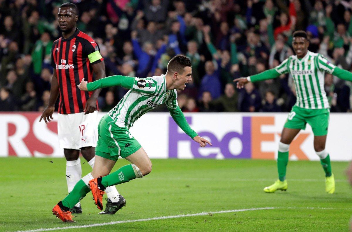 هدف ريال بيتيس الأول