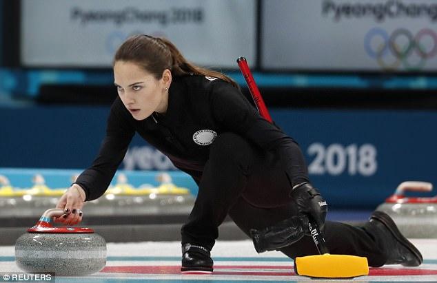 أناستازيا  تستحوذ على لقب الأجمل فى الأوليمبياد الشتوية