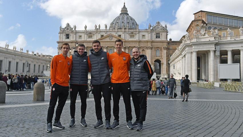 سعادة لزيارة معالم روما