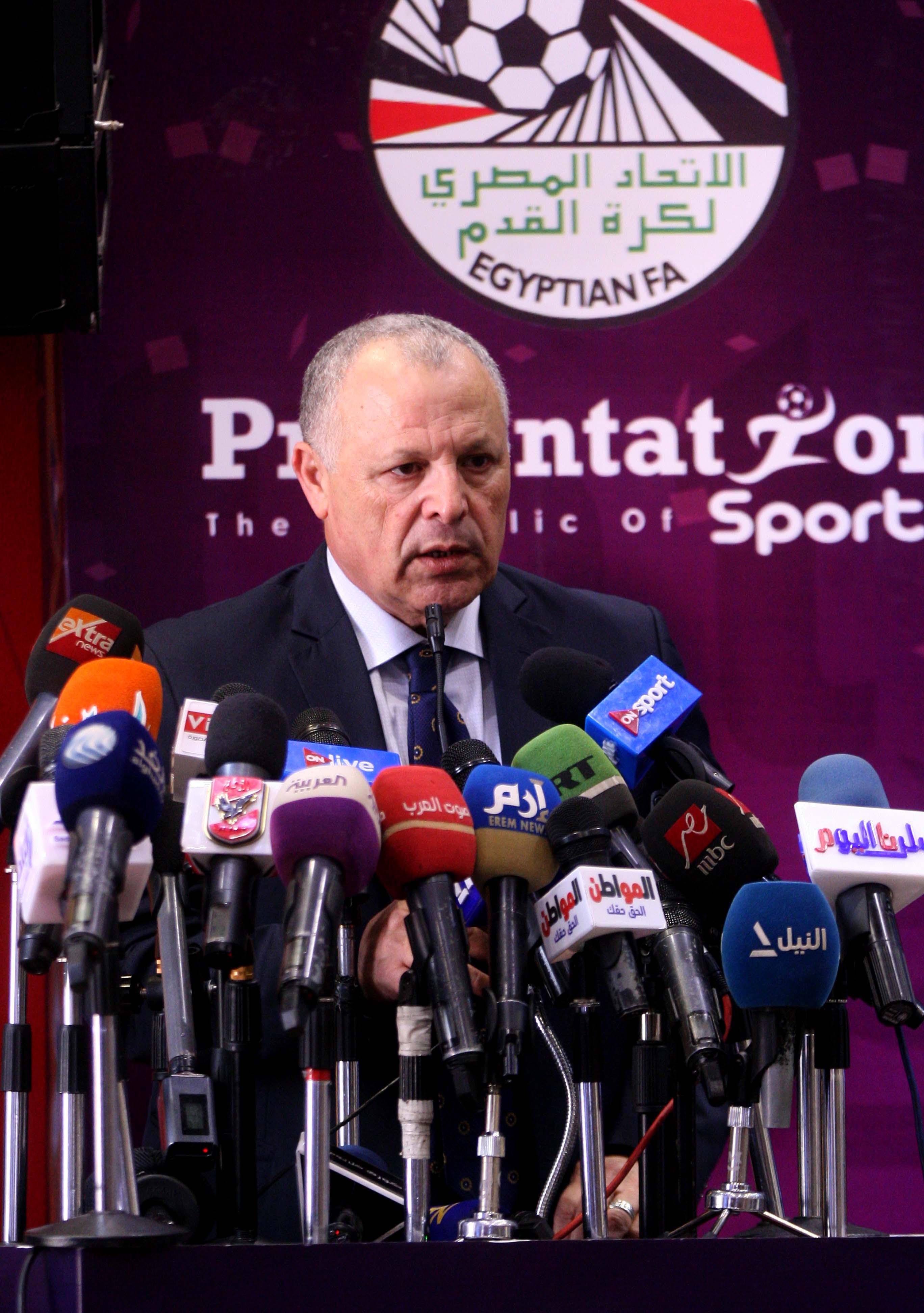 حديث رئيس اتحاد الكرة