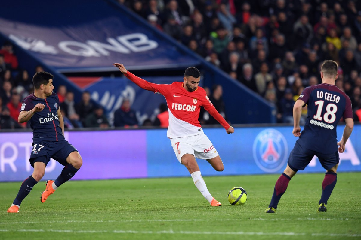 موناكو سجل هدفا وحيدا بطوفان باريس سان جيرمان