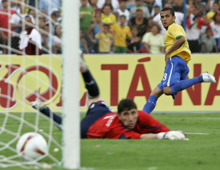 كوبا أميريكا مع البرازيل 2007