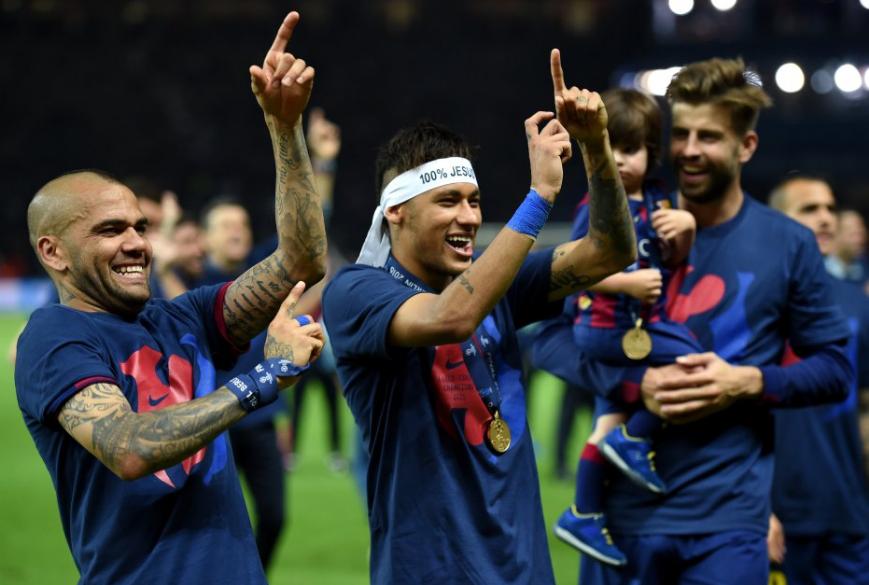 دورى الأبطال 2015 مع برشلونة
