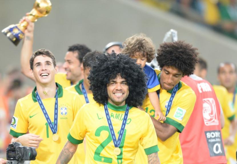 كاس القارات 2013 مع البرازيل