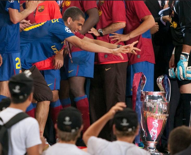 دورى الأبطال مع برشلونة 2009