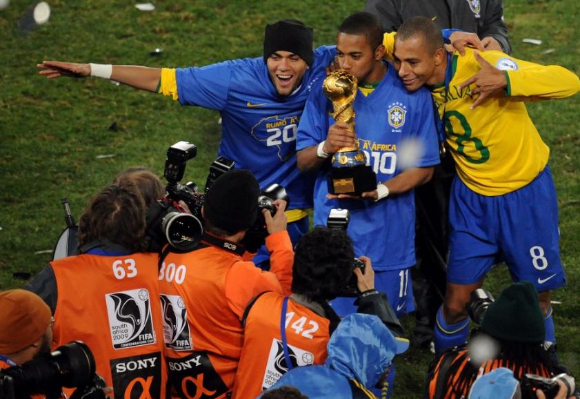 كاس القارات مع البرازيل 2009