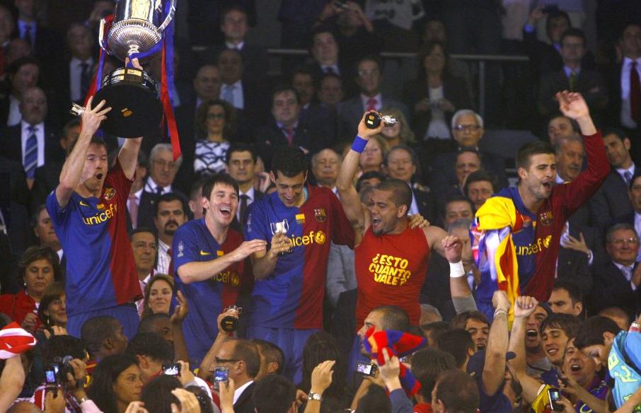 كأس إسبانيا مع برشلونة 2009