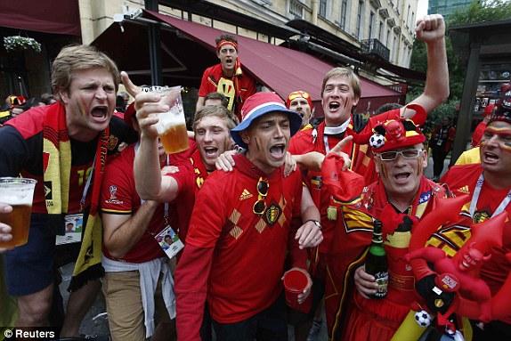 جماهير بلجيكا