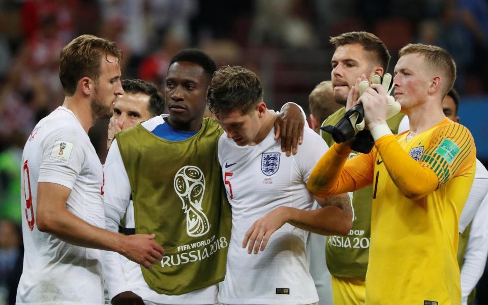 دموع وصدمة لاعبي إنجلترا بعد توديع المونديال (4)
