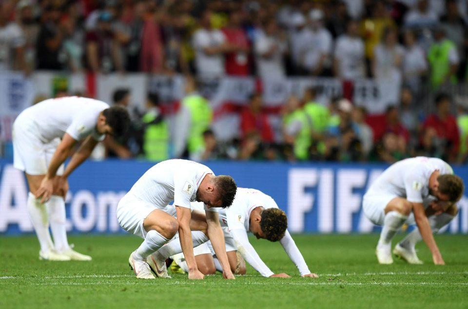 دموع وصدمة لاعبي إنجلترا بعد توديع المونديال (6)