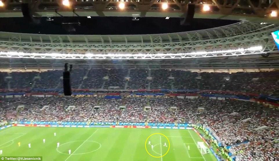 لاعبو انجلترا في المباراة