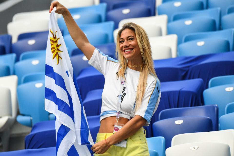مشجعة ارجنتينية