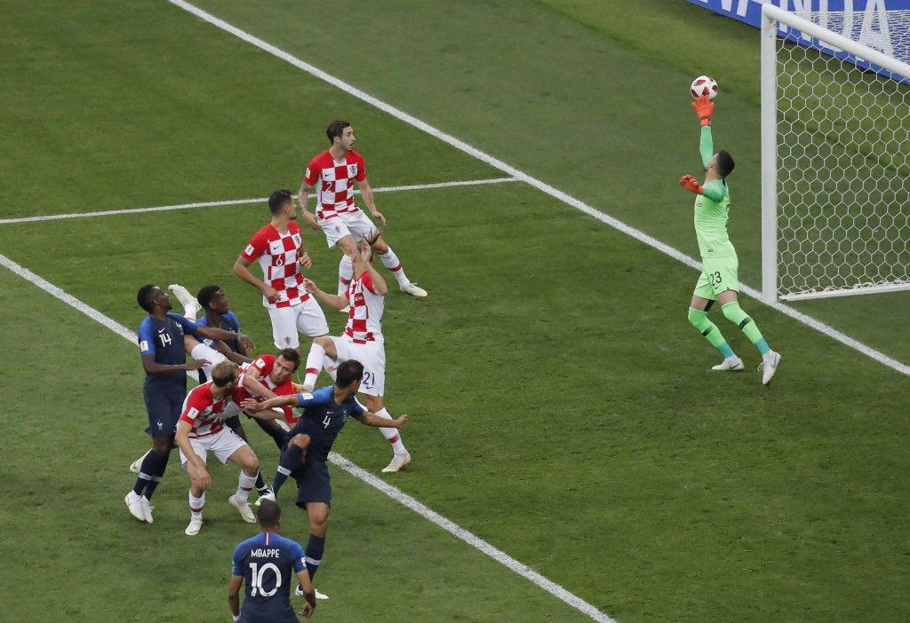 الكرة فى مرمى كرواتيا