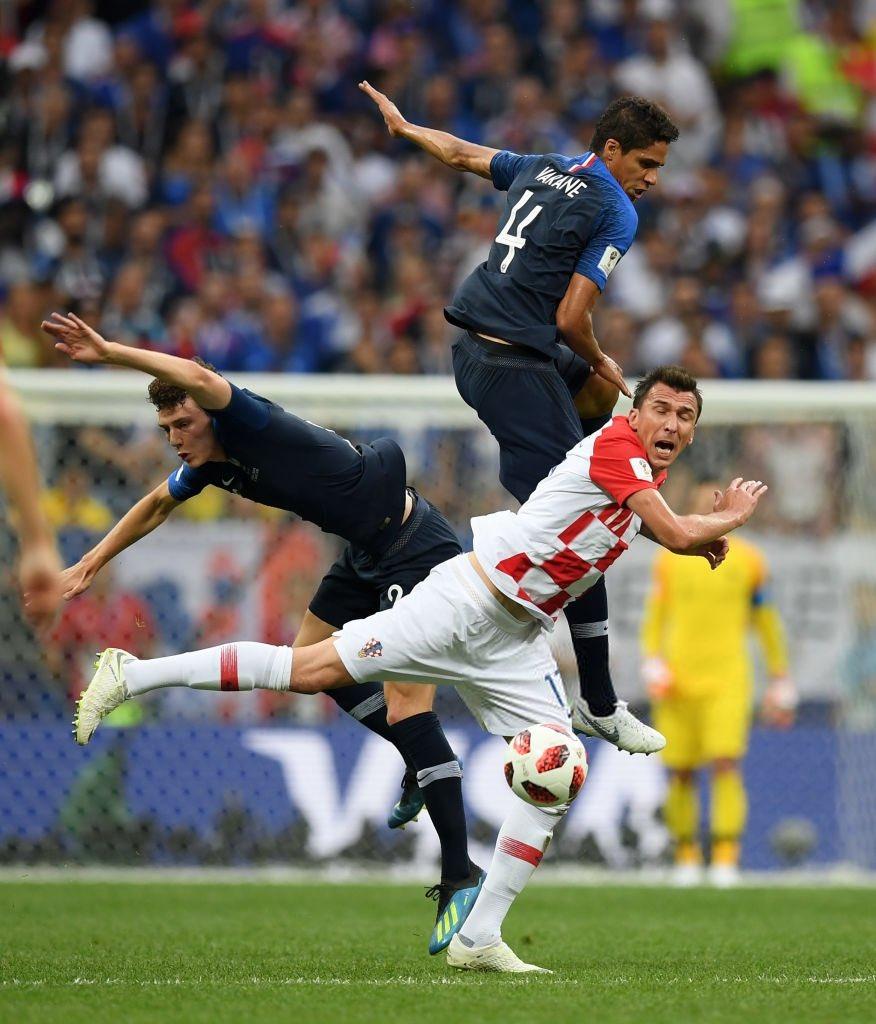 ماندزوكيتش سجل هدف فرنسا الأول