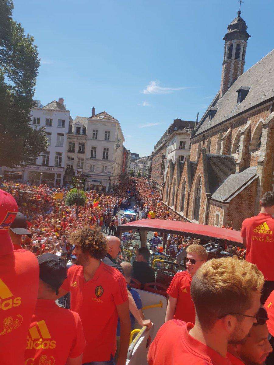 الجماهير البلجيكية