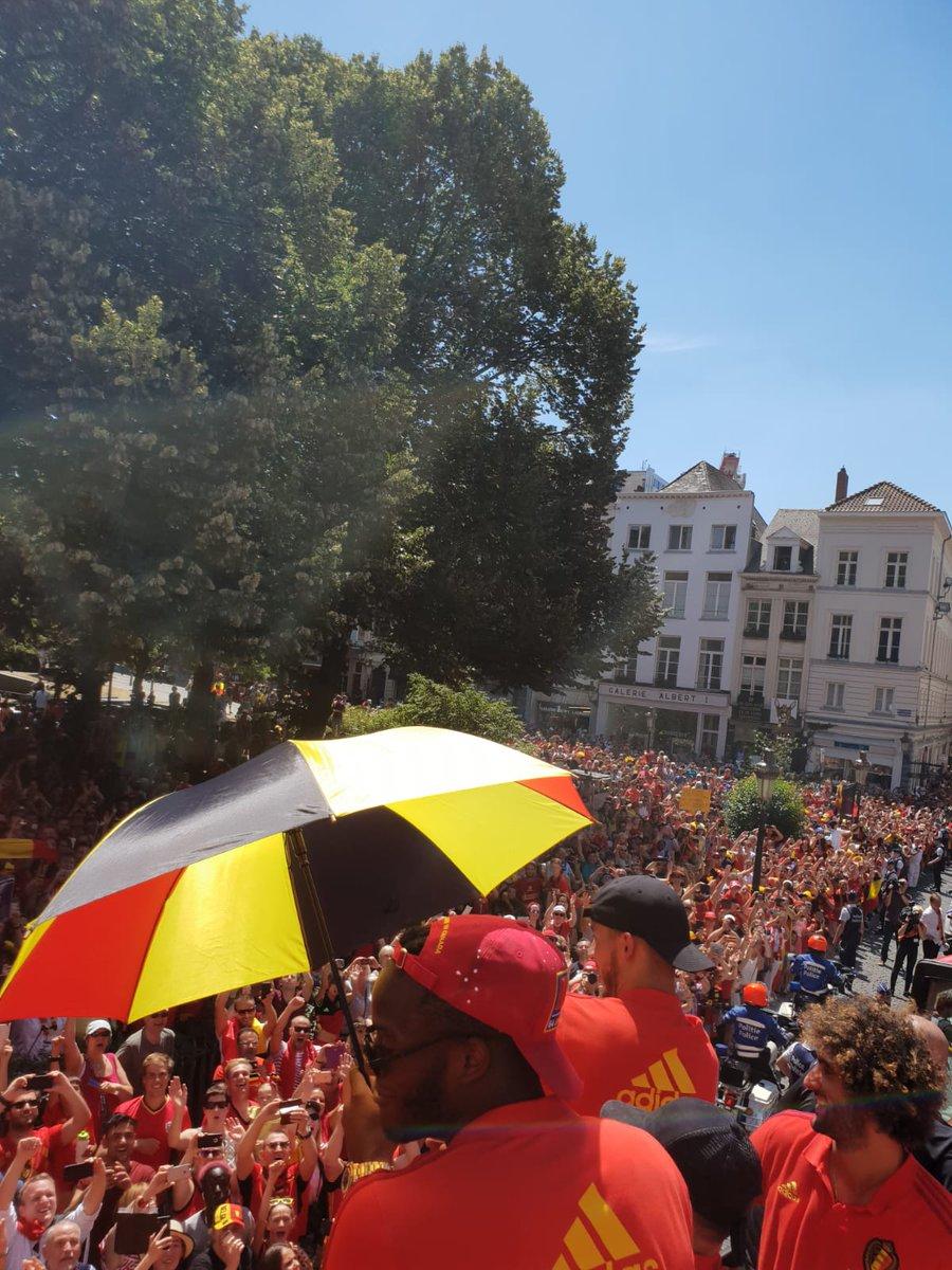 مشجعى بلجيكا
