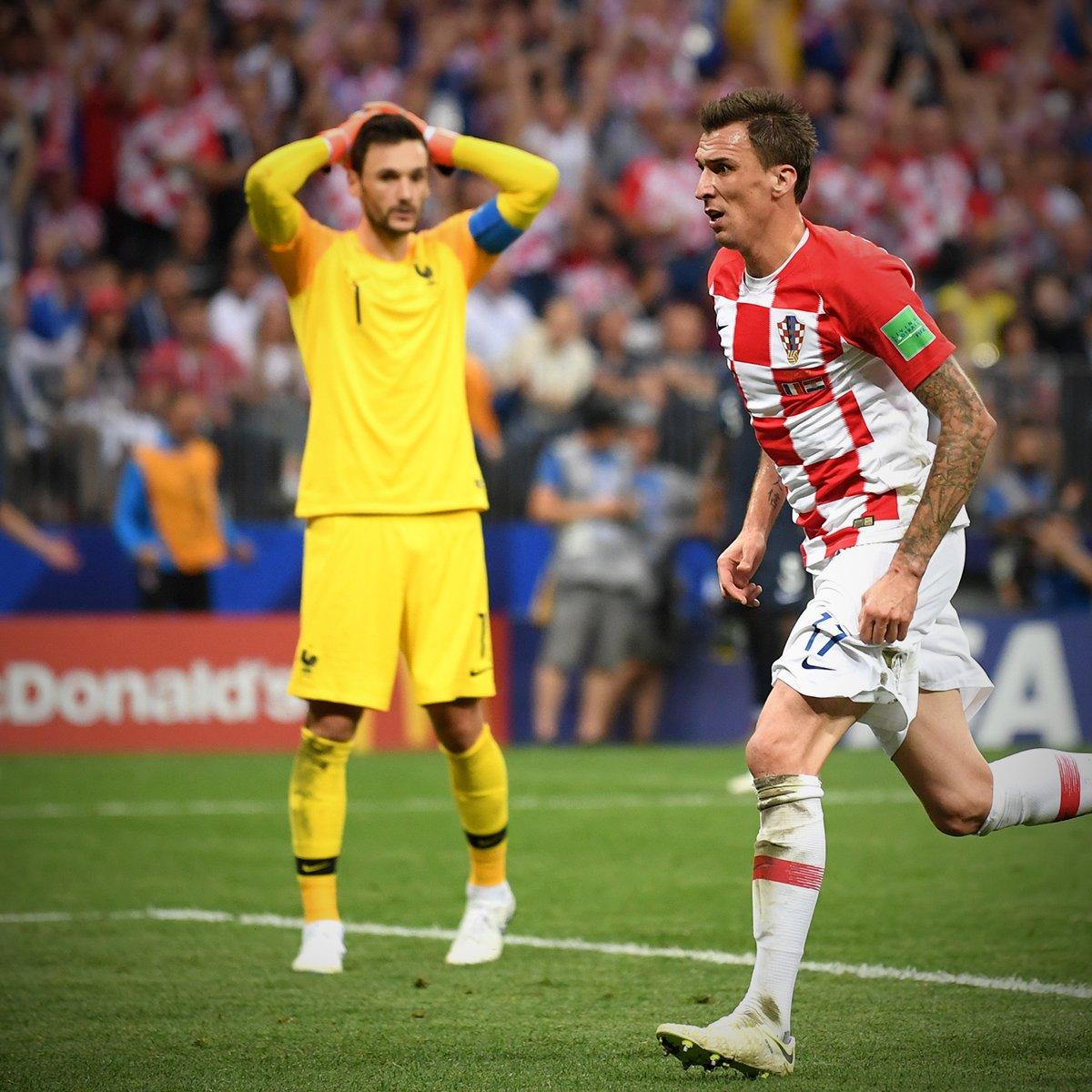 ماندزوكيتش يسجل الثانى لكرواتيا