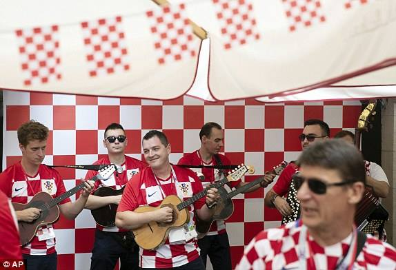 مشجعى كرواتيا
