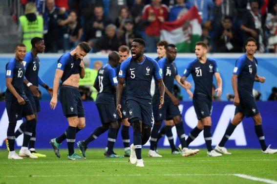 منتخب فرنسا بطل كاس العالم