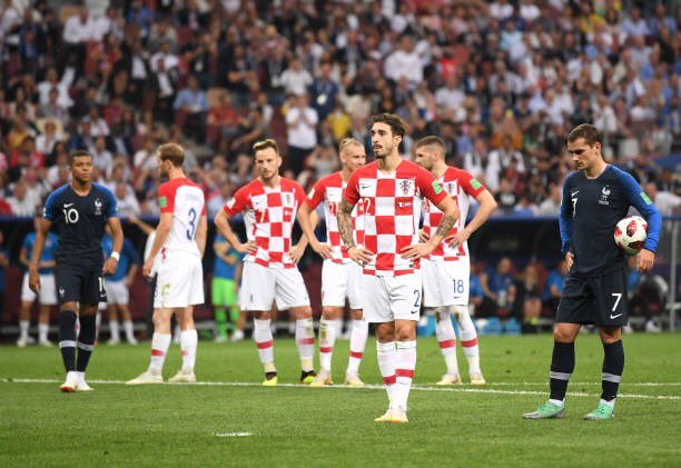 حسرة لاعبى كرواتيا على الهدف الثانى