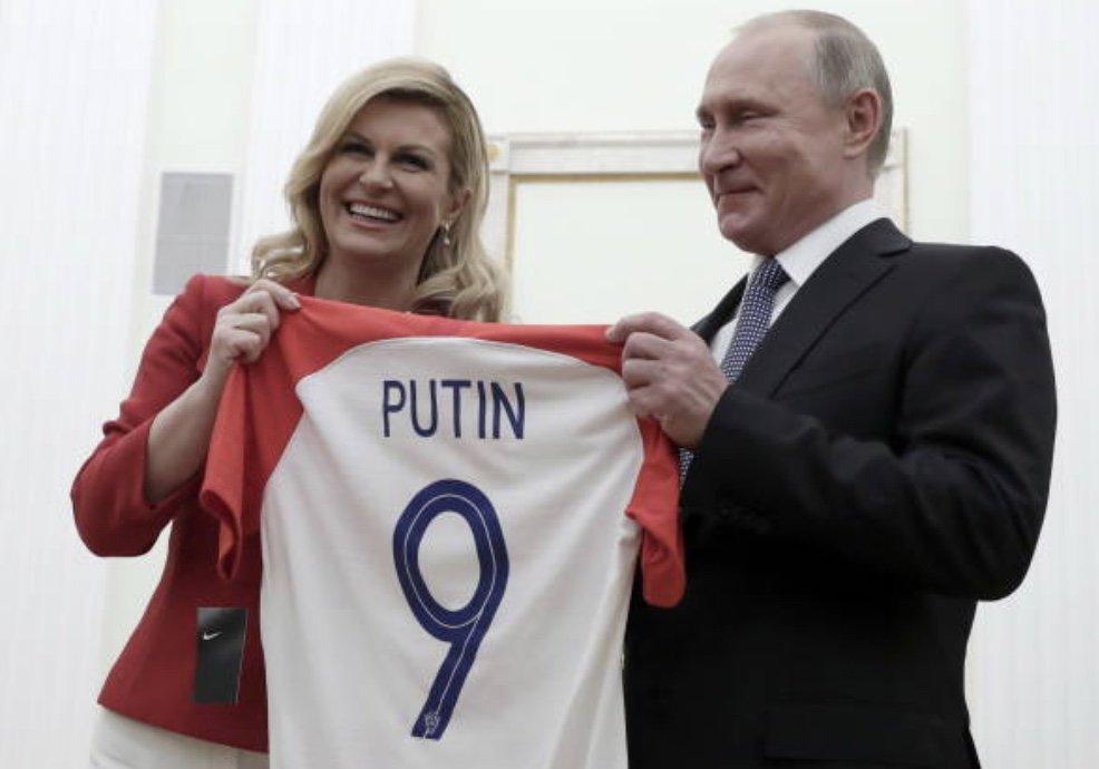 كولندا مع الرئيس الروسى