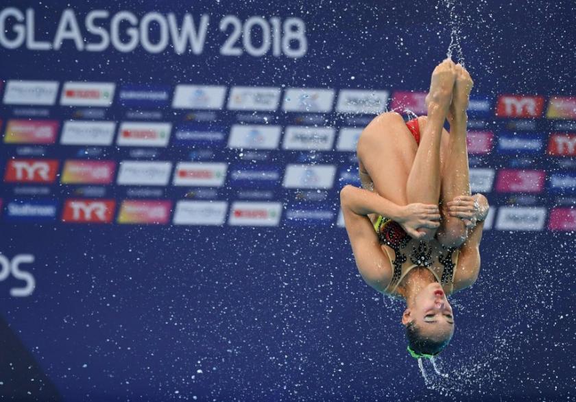 قفزة من السباحة الإيطالية فى بطواة أوروبا