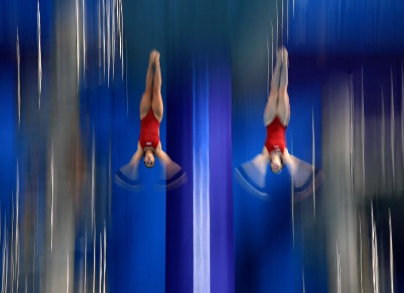 الفريق الألمانى فى بطولة أوروبا للسباحة