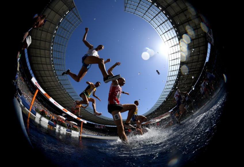 سباق 300 الاف متر فى بطولة أوروبا لألعاب القوى