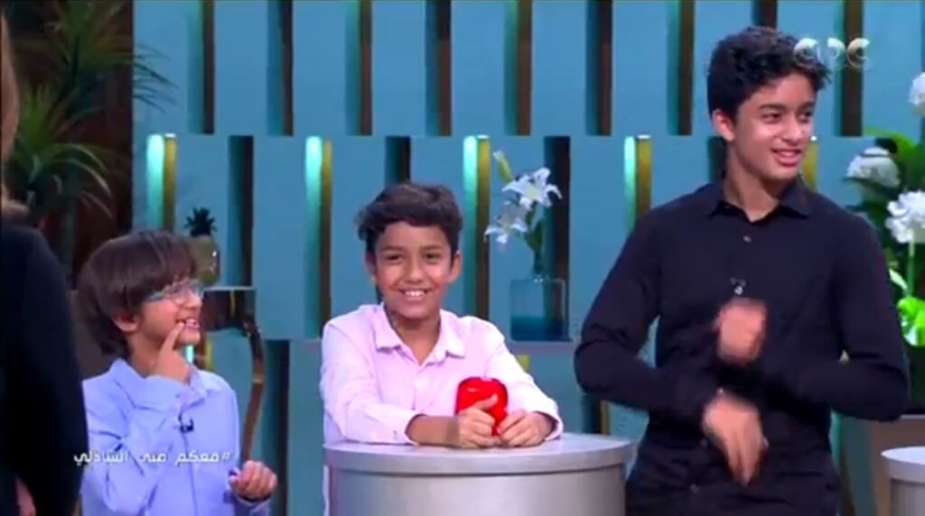 ميدو وعائلته اليوم فى برنامج معكم منى الشاذلى (2)