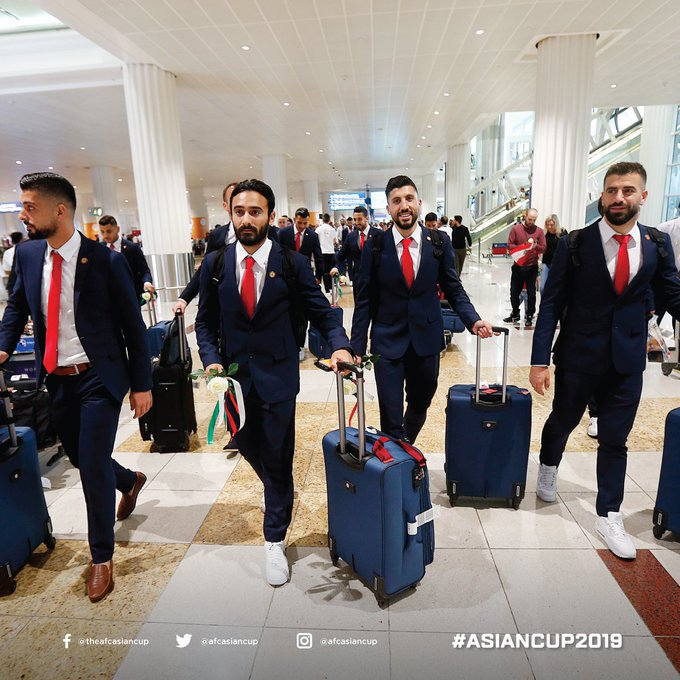 منتخب لبنان فى الإمارات