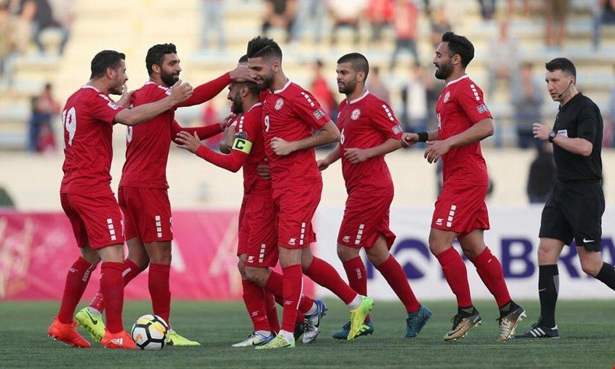 المنتخب اللبنانى