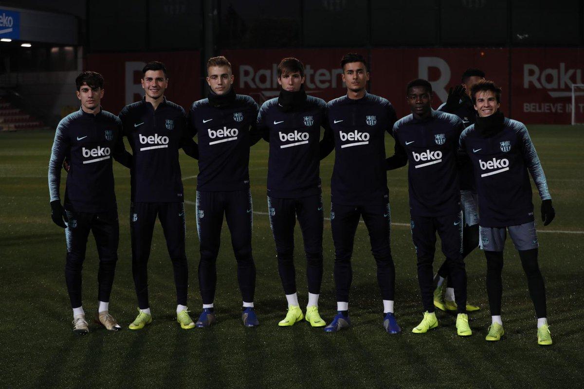 مران برشلونة