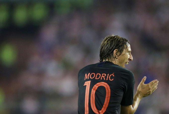 10 أرقام مثيرة لنجم كرواتيا مودريتش في مواجهة المجر