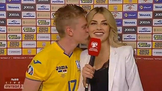 قبلة زينشينكو