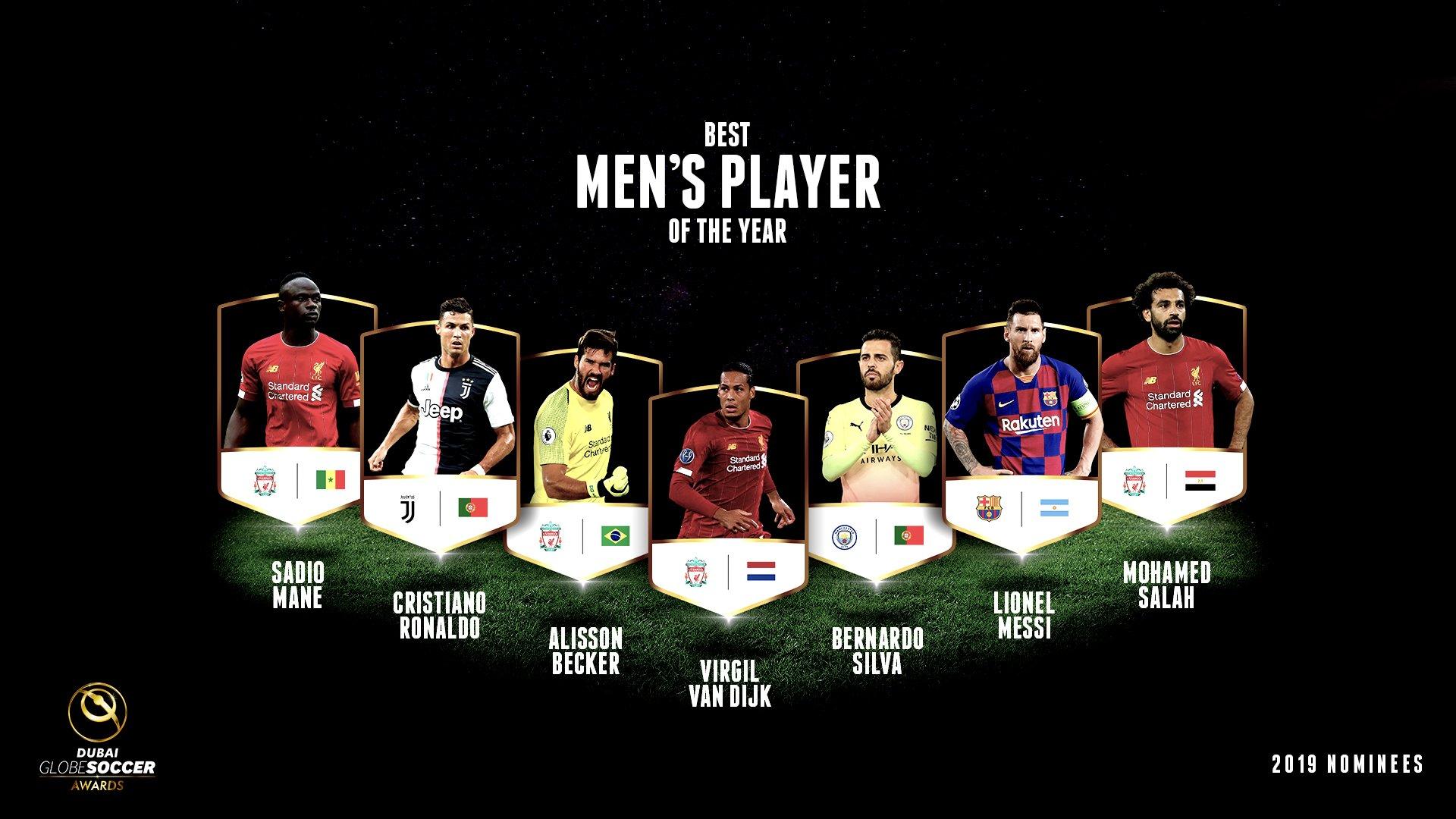 قائمة المرشحين للجائزة