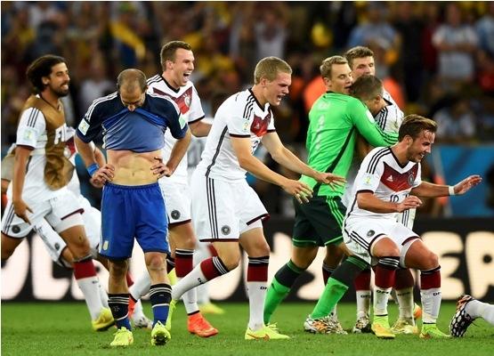 الشهد والدموع عنوان آخر مواجهة بين ألمانيا والأرجنتين (1)
